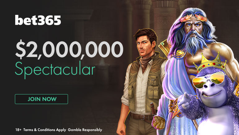 60,000 Up For Grabs in Bet365's $2,000,000 Spectacular Promotion
