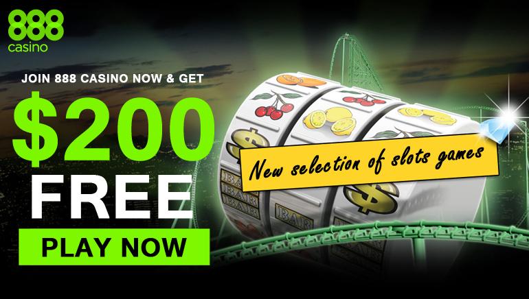 888 Casino - Join 888 Casino & Get $200 Free Bonus