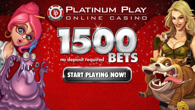 Platinum Play Casino Offers Two Great Bonuses Right From The Start