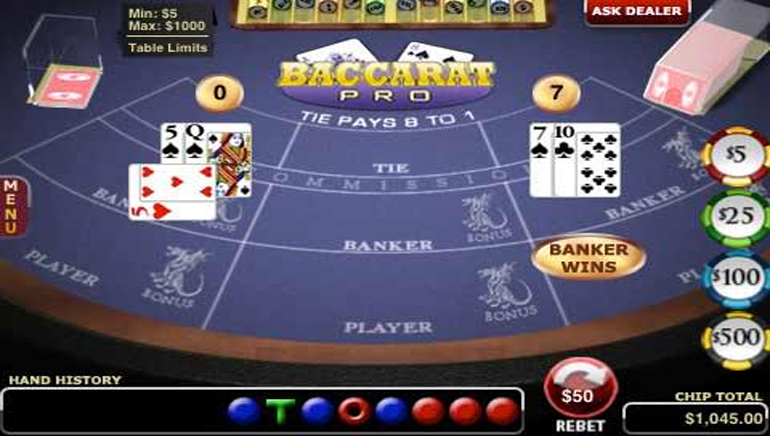 5 Best Online Baccarat Strategy Tips