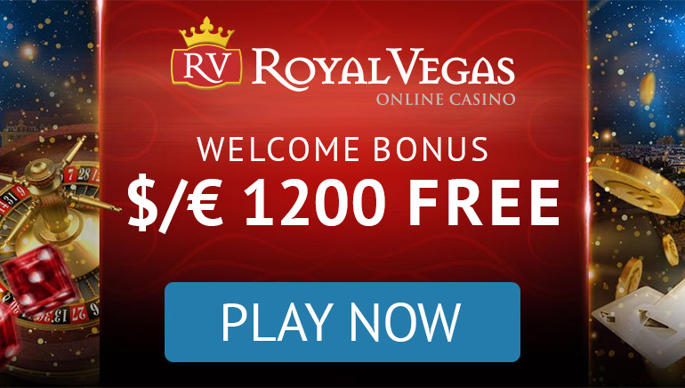 Royal Vegas Casino - Get $1200 Free Welcome Offer
