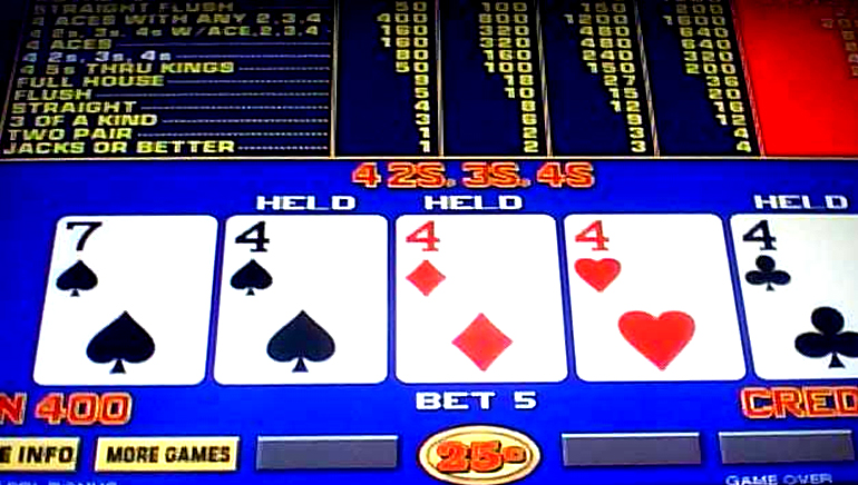 Video Poker for your Quick Poker Fix