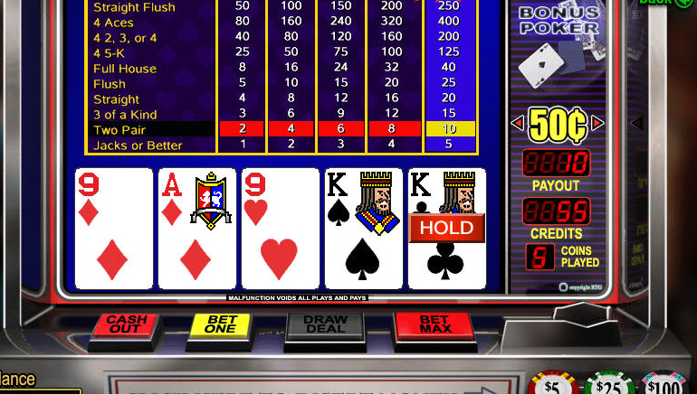 Video poker slots games play casino slots online free no download