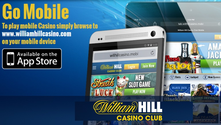 William Hill Casino Club Reveals Upgraded Website
